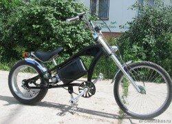 Электровелосипед своими руками может выглядеть по-разному.