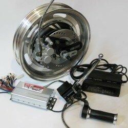 Самодельный электроскутер: набор готовых компонентов.