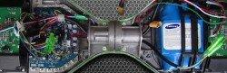Разница между настоящим гироскутером и подделкой видна при вскрытии устройства.