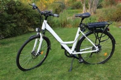 Электрический велосипед фото