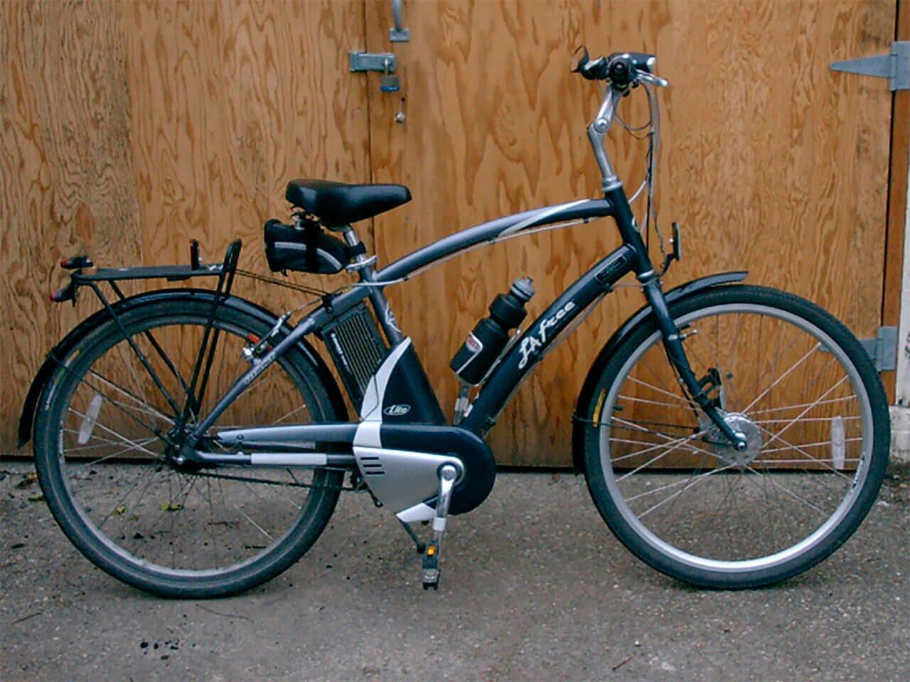 Электровелосипед нового образца фото